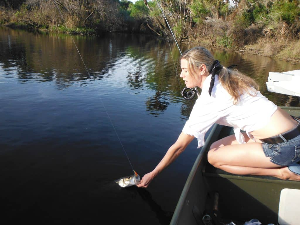 fly fishing Sarasota rivers
