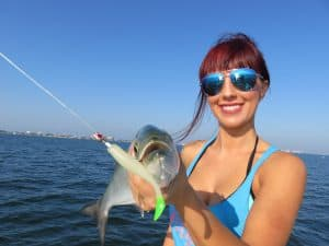 Sarasota jig fishing