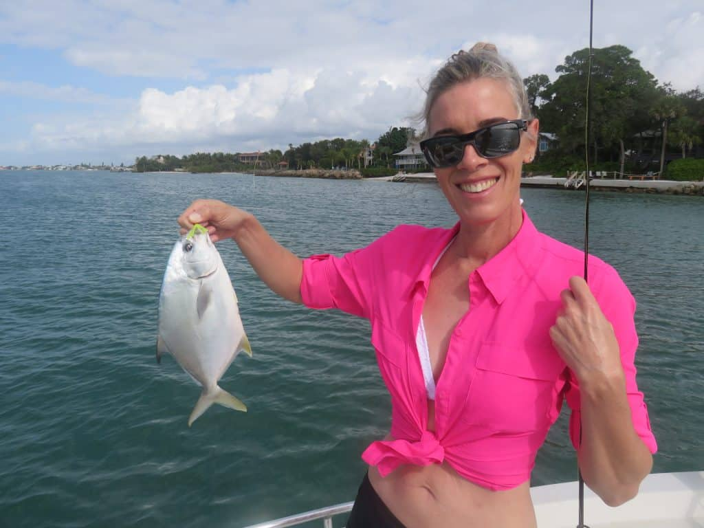 Sarasota pompano fishing