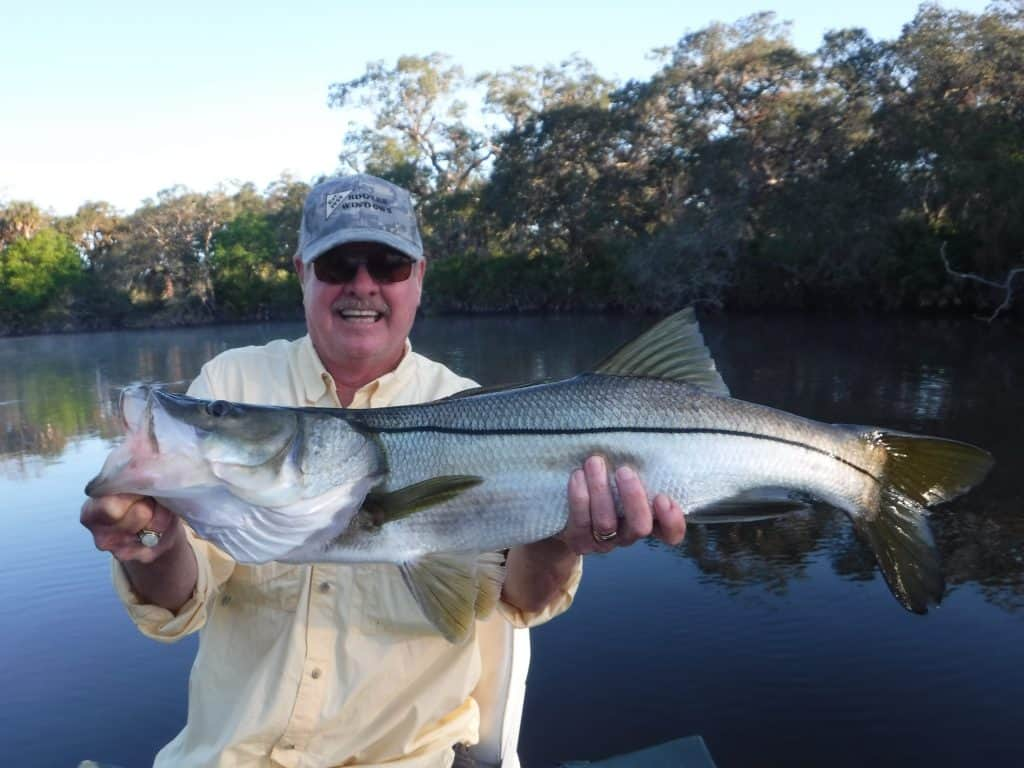 river snook fishing