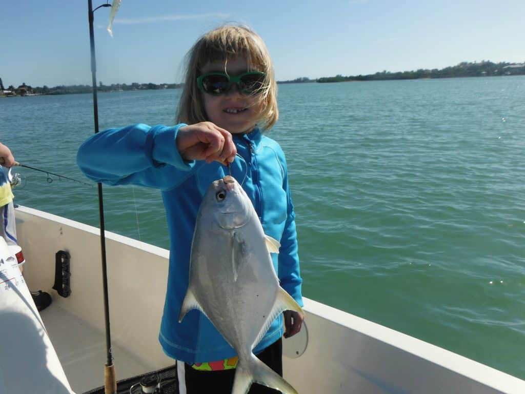 Florida pompano fishing