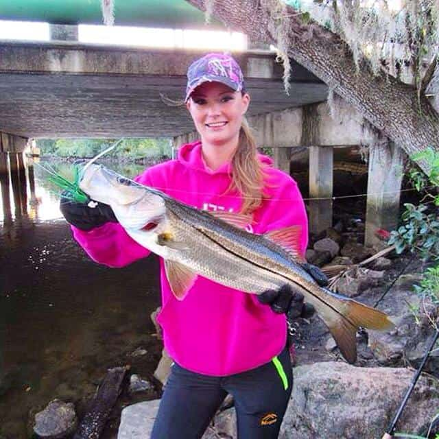 Snook on a jig