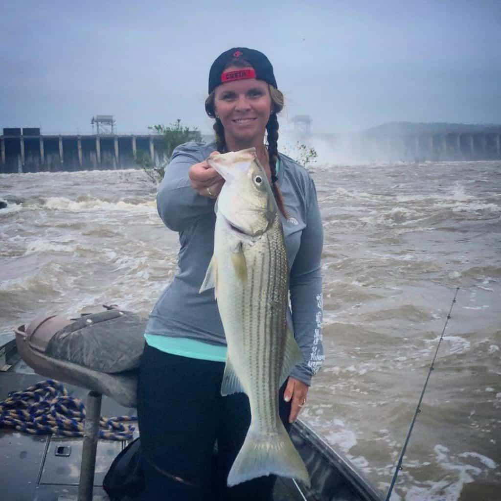 Tailwater fishing for bass and catfish