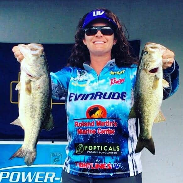 women bass fishing, tournament tips