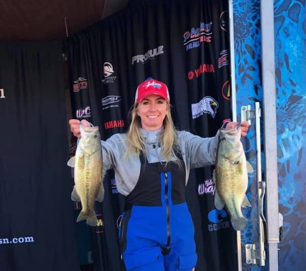 women tournament bass fishing