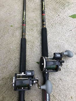 walleye trolling rods
