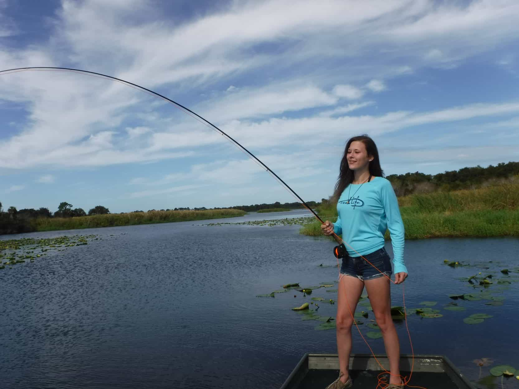 freshwater fly fishing in Florida