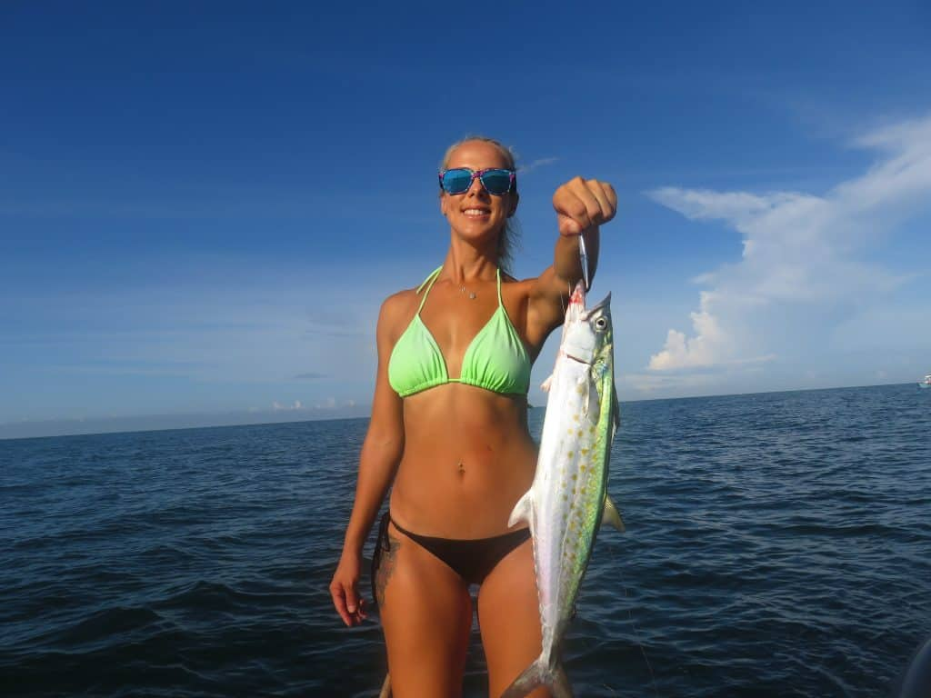 Spanish mackerel fishing in Florida