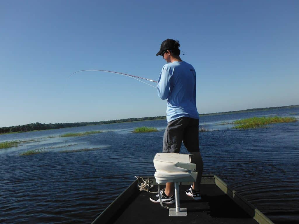 fly fishing for bream