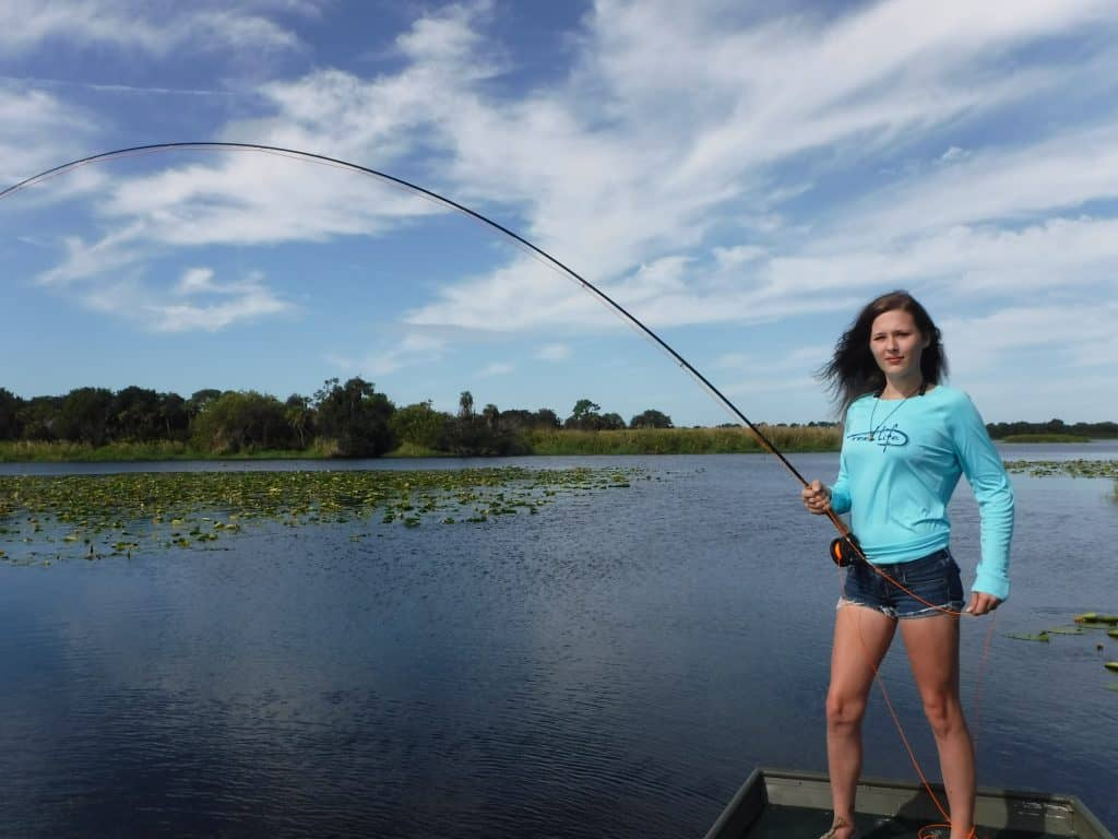 fly fishing for bluegill and panfish