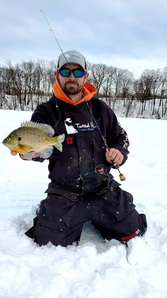 ice fishing for panfish