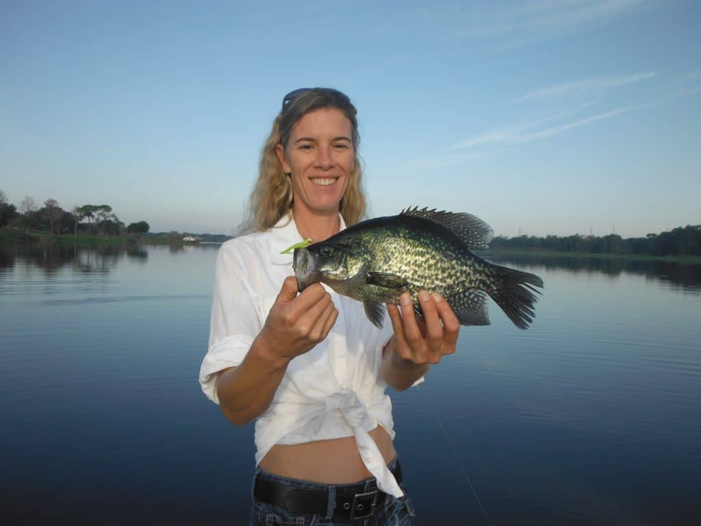fishing for crappie with jigs