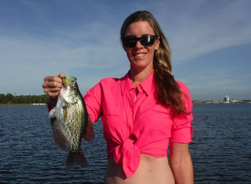 fishing for crappie bluegill and panfish