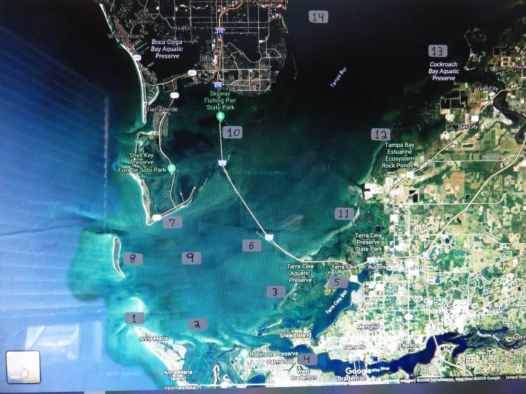 Tampa Bay fishing spots