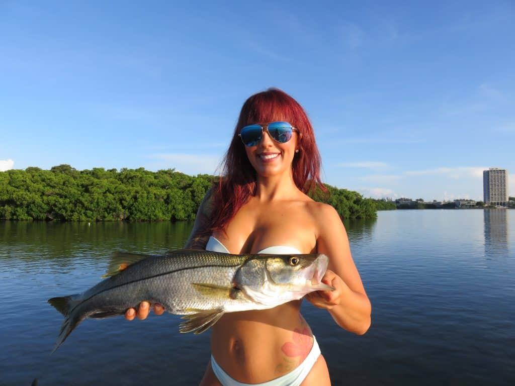 summer fishing in Florida