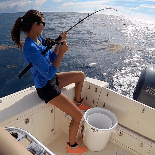 fishing for sea bass