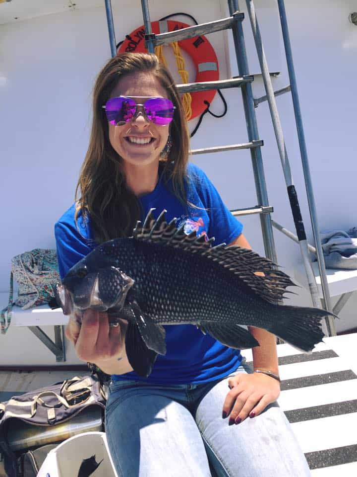 black sea bass fishing
