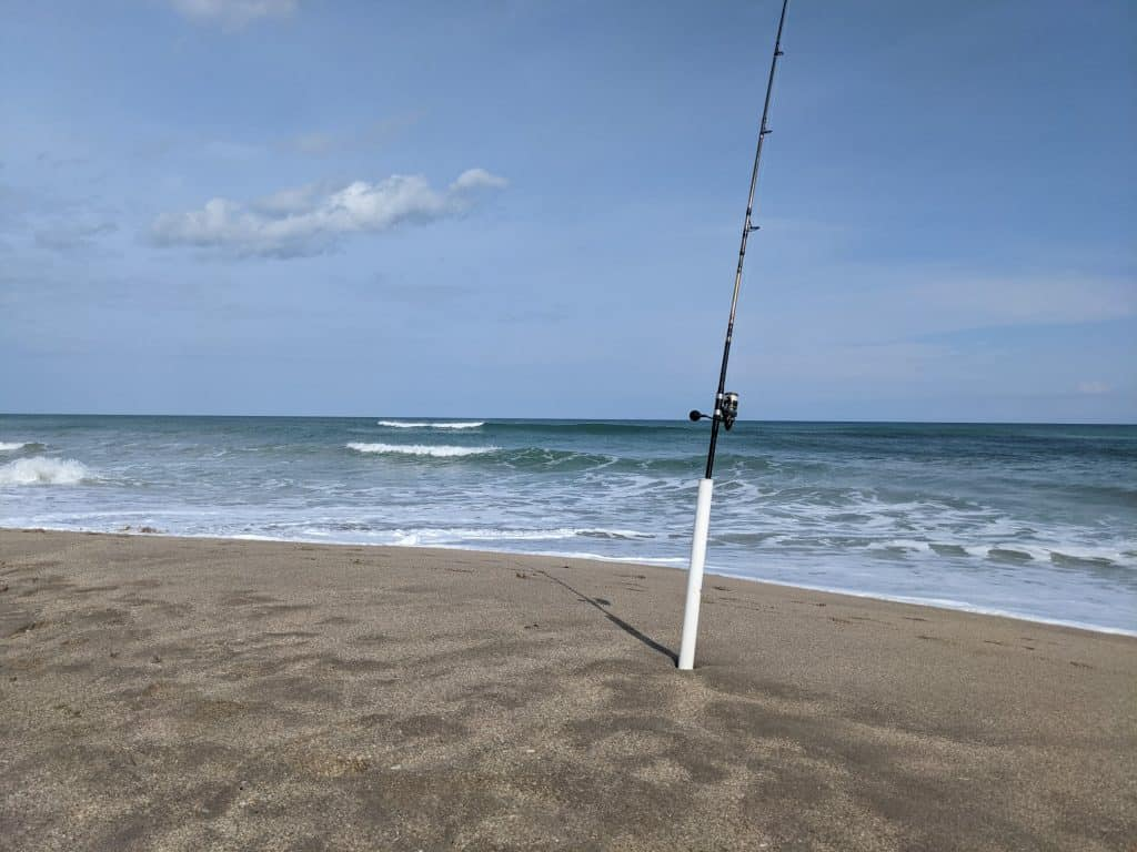 surf fishing spike
